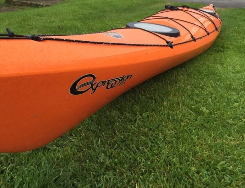 our brand new fleet of sea kayaks