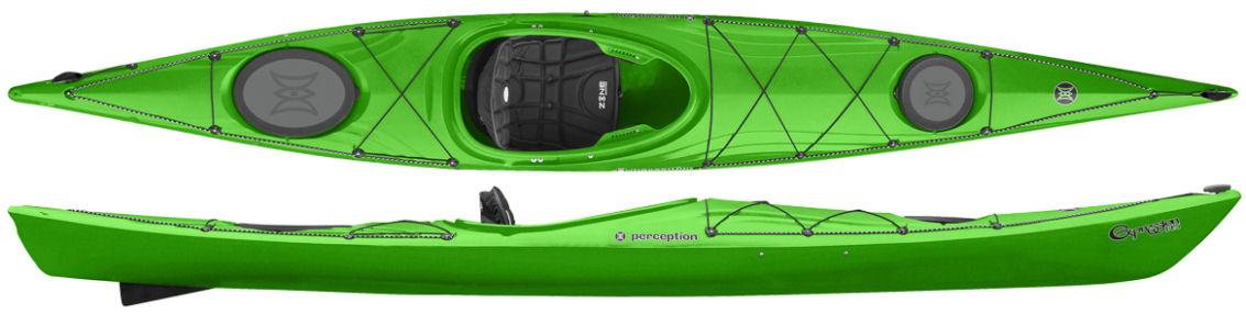 perception expression sea kayak